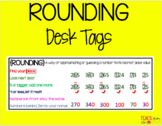 Rounding Desk Tag