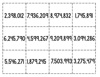 Rounding Dice SOL 4.1; CCSS 3.NBT.A.3