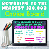 Rounding Distance Learning Digital Choice Board | Rounding