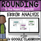 Rounding Error Analysis for Google™ Classroom Distance Learning
