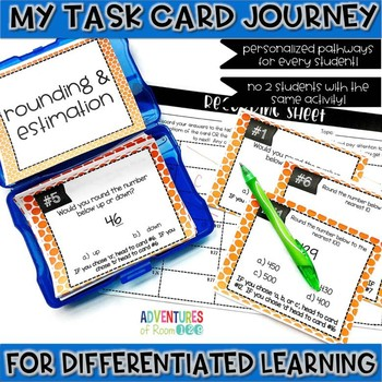 Rounding & Estimating Task Cards
