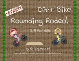 "Rounding Estimation Game - Differentiated ""Dirt Bike Rounding Rodeo"" Game"