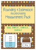 Rounding & Estimation Incorporating Measurement: Common Core Aligned