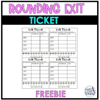 Rounding Exit Ticket