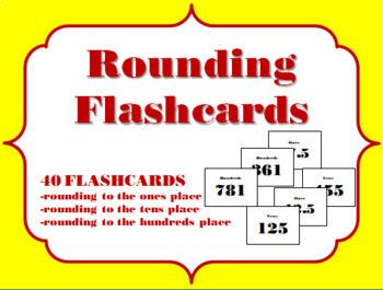 Rounding Flashcards