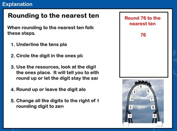 Rounding Flipchart - 3.NBT.A1 and 4.NBT.A3