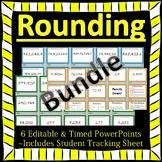 Editable Rounding Fluency 6 PowerPoints