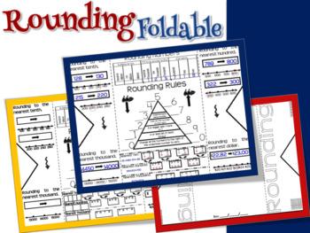 Rounding Foldable Graphic Organizer