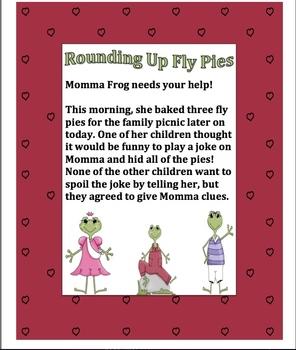 Rounding Frog Pack (2 frog ws/center activities)