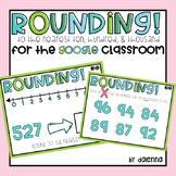 Rounding: GOOGLE Task Cards
