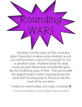 Rounding Game!