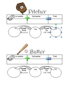 Rounding Game Baseball