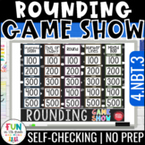 Rounding Game Show {Whole Numbers} | 4th Grade Test Prep Math Review 4.NBT.3