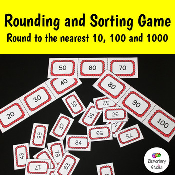 Rounding Game to the nearest 10, 100 and 1000
