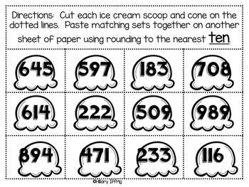 Rounding: Games & Number Lines ~ BUNDLE