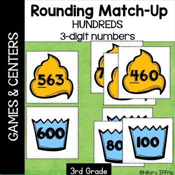 Rounding Hundreds with 3-Digit Numbers