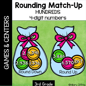 Rounding Hundreds With 4-Digit Numbers
