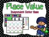 Place Value Independent Center Game #1