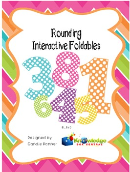 Rounding Interactive Foldable Booklets