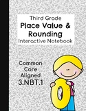 Rounding Interactive Notebook - 3.NBT.1