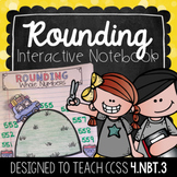 Rounding Interactive Notebook {4.NBT.3}