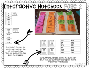 Rounding Interactive Notebook Pages