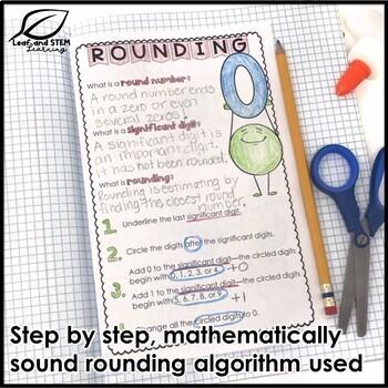 Rounding Interactive Notebook Set