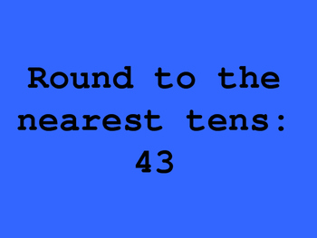 Rounding Jeopardy Game