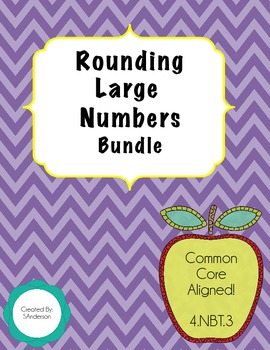 Rounding Large Numbers Bundle - NBT.3