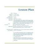 Rounding Lesson Plan