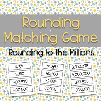 Rounding Matching Game