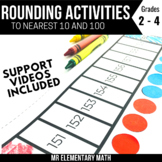 Rounding Math Activities   To Nearest 10's and 100's
