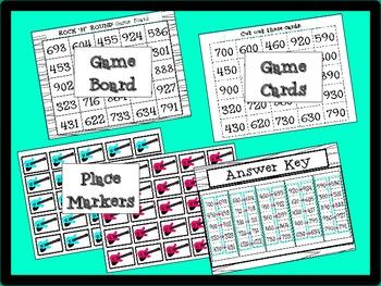 Rounding Math Game: Rock 'n' Round