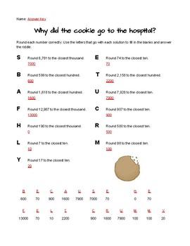 Rounding Math Riddles