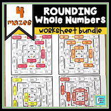 Rounding Worksheet Bundle
