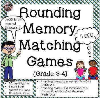 Rounding Games: Memory Matching