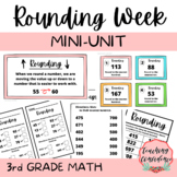 Rounding Mini-Unit - 3rd Grade Math Lesson and Activities