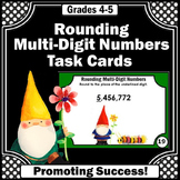 Rounding Task Cards for 4th Grade Math Review Games SCOOT