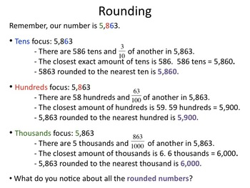 Rounding Multi-Digit Whole Numbers (4.NBT.A.3)