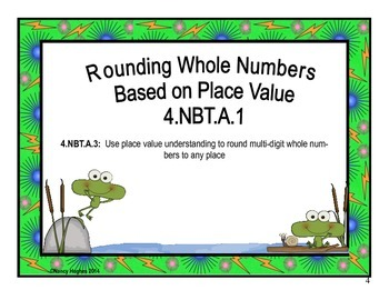 Rounding Multi-Digit Whole Numbers Based on Place Value