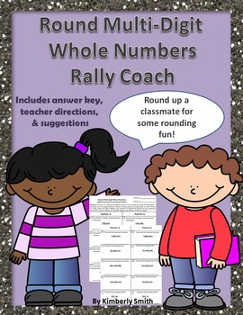 Rounding Multi-Digit Whole Numbers Rally Coach