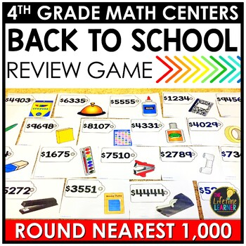 Rounding Nearest Thousand August Math Center