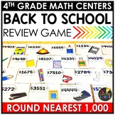 Rounding Nearest Thousand Back to School Game