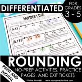 Rounding Worksheets | Rounding Games | Rounding Activities | No Prep