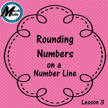 Rounding Number on a Number Line