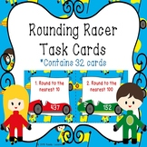 3rd Grade Rounding Numbers Task Cards Rounding to the nearest 10 and 100 3.NBT.1