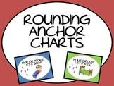 Rounding Numbers Anchor Chart Posters