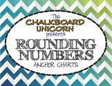 Rounding Numbers Anchor Chart (English & Español)
