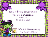 Rounding Numbers Board Game - Halloween Edition