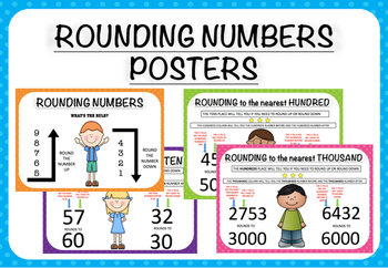 Rounding Numbers Classroom Posters